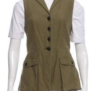 rag & bone button up vest
